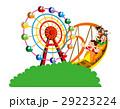 ジェットコースター、遊園地、家族、家族レジャー 29223224