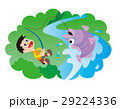 釣り、子供と釣り、男の子と釣り、渓流釣り、魚 29224336