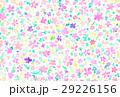 背景素材 花柄 パステルカラーのイラスト 29226156