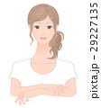 腕のケアをする女性 29227135