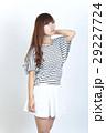 若い女性 ファッション ポートレート 29227724