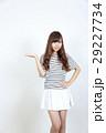 若い女性 ファッション ポートレート 29227734