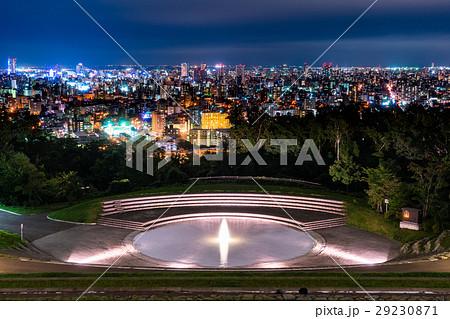 【北海道】札幌・旭山記念公園の夜景 29230871