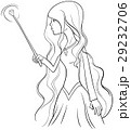 witch character coloring page 29232706