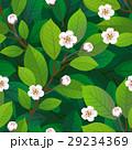 背景 シームレス お花のイラスト 29234369