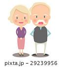 夫婦 おじいさん おばあさんのイラスト 29239956