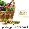 ベジタブル 野菜 健康のイラスト 29242424