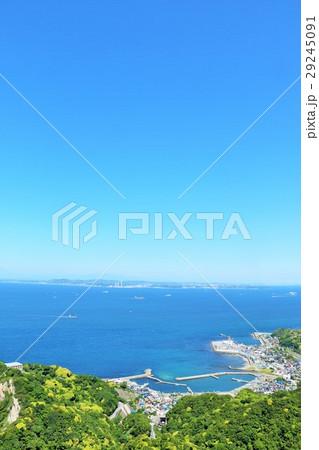 千葉県 鋸山からの展望風景 29245091