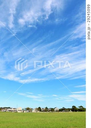 青空と街の公園風景 29245099