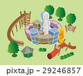 アスレチック、複合遊具、公園 29246857