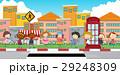 子供 子 道路のイラスト 29248309