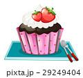 クリーム カップケーキ ケーキのイラスト 29249404