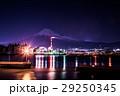 富士市 工場夜景 富士山  29250345