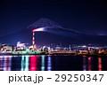 富士市 工場夜景 富士山  29250347