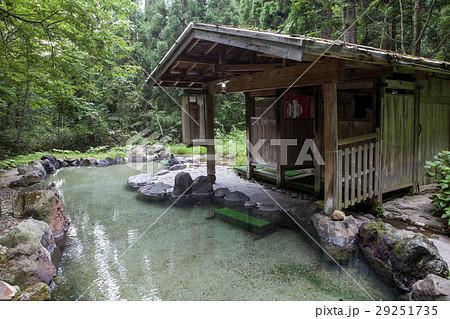 秋田、蟹場温泉の露天風呂 29251735