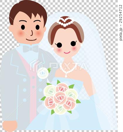 結婚 新郎新婦 29254712