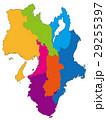 近畿地方 近畿 地図のイラスト 29255397