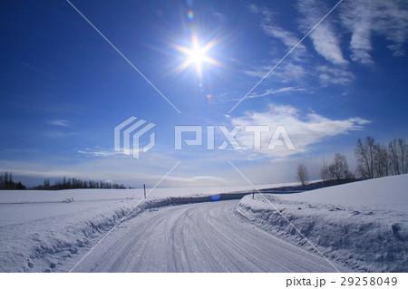 冬の美瑛 29258049