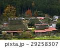かやぶきの里 紅葉 美山町の写真 29258307