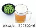 枝豆とビール 29260246