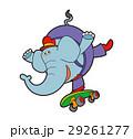ゾウとスケボー、ゾウのキャラクター、スケボー 29261277