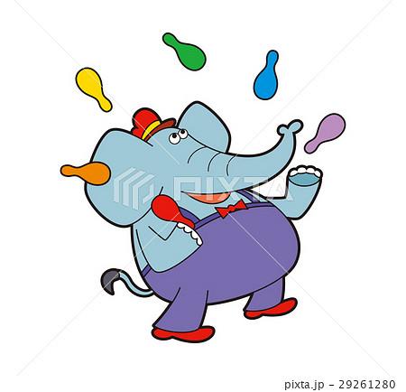 ゾウのジャグリング、ジャグリングのゾウ、ジャグリング 29261280