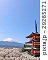 富士山 山 桜の写真 29265271