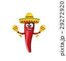 胡椒 チリ メキシカンのイラスト 29272920