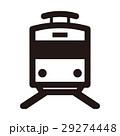 アイコン 電車 ピクトグラムのイラスト 29274448
