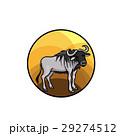 動物 マンガ ベクトルのイラスト 29274512