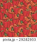 胡椒 赤い パターンのイラスト 29282933