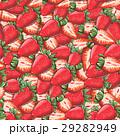 いちご パターン 柄のイラスト 29282949