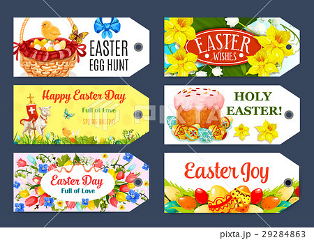 Easter egg hunt gift tag and label set design easter egg hunt gift tag and label set design negle Image collections