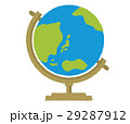 地球儀 世界 イラストのイラスト 29287912