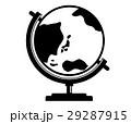 地球儀 世界 イラストのイラスト 29287915