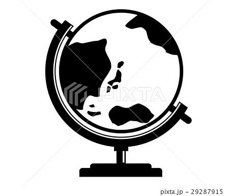 地球儀 イラスト 29287915