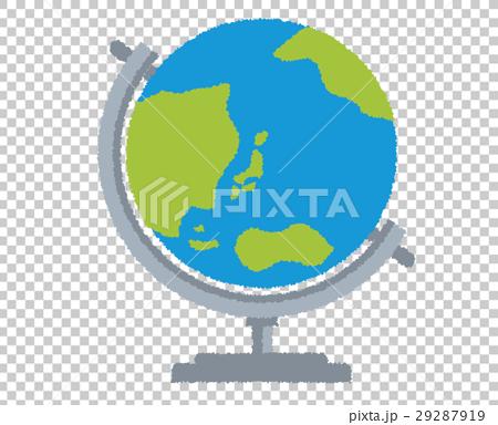 地球儀 イラスト 29287919