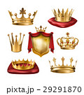 金色 黄金 クラウンのイラスト 29291870