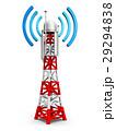 アンテナ そびえる タワーのイラスト 29294838