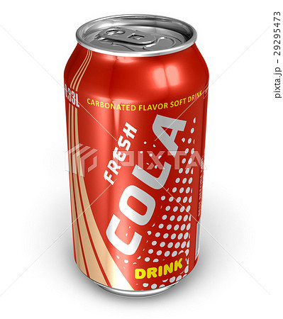 Cola drink in metal can 29295473
