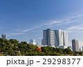 庭園 空 高層ビルの写真 29298377