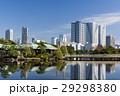 秋の浜離宮恩賜庭園と豊海のタワーマンション 29298380