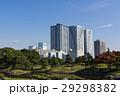 浜離宮恩賜庭園 空 高層ビルの写真 29298382