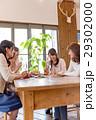 若い女性、女子会、4人、レストラン 29302000