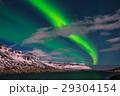 オーロラ グリーン 緑色の写真 29304154