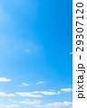 青い空 空 雲の写真 29307120