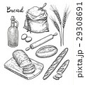 Ingredients and bread set. 29308691