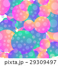 Background with simple blue and pink circles 29309497