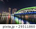 勝鬨橋 ライトアップ 夜景の写真 29311860