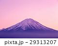 富士 夕日 夕焼の写真 29313207